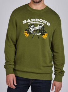 BARBOUR International B.INTL FAMOUS DUKE SWEATSHIRT - MOL0282GN16 - Tadolini Abbigliamento