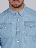 BARBOUR International B.INTL STEVE STEVE McQUEEN™ INDY SHIRT - MSH4961BU43 - Tadolini Abbigliamento
