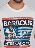BARBOUR International BA INTL TIME STEVE TEE - MTS0805WH32 - Tadolini Abbigliamento
