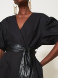 TWINSET Milano ABITO IN POPELINE CON CINTURA - 211TT2490 - Tadolini Abbigliamento