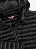 SLIM FIT DOWN JACKET WITH IRIDESCENT EFFECT