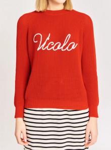 Vicolo PULL LOGO VICOLO - 07085H 035 - Tadolini Abbigliamento