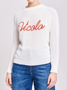 Vicolo PULL LOGO VICOLO - 07085H 002 - Tadolini Abbigliamento