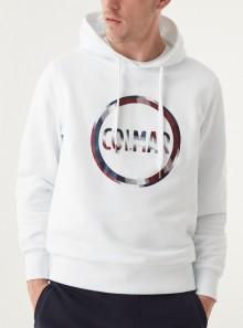 Colmar Originals FELPA CON CAPPUCCIO E MAXI LOGO - 8269R - Tadolini Abbigliamento