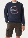 Colmar Originals FELPA GIROCOLLO CON MAXI LOGO - 8268R 68 - Tadolini Abbigliamento