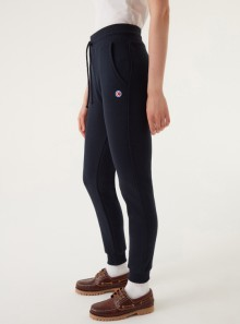SLIM FIT TROUSERS WITH PADDED INSERTS