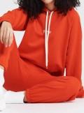 Vicolo FELPA CAPPUCCIO PAPAYA - RH0073 - Tadolini Abbigliamento