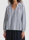 Woolrich BLUSA IN COTONE MISTO LINO - CFWWSI0090FRUT2589 3047 - Tadolini Abbigliamento