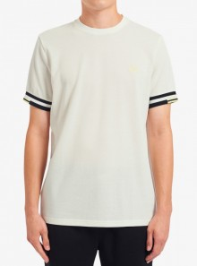 ABSTRACT CUFF T-SHIRT
