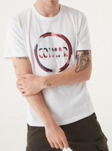 Colmar Originals T-SHIRT IN COTONE CON MAXI LOGO -  7583 01 - Tadolini Abbigliamento
