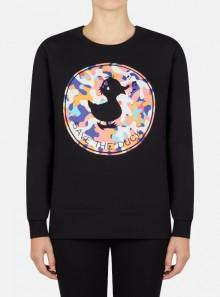 Save The Duck FELPA GIROCOLLO LAURA - DF0147W-FLEE12 - Tadolini Abbigliamento