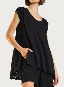 TWINSET Milano T-SHIRT CON RICAMO SANGALLO - 211MT2052 - Tadolini Abbigliamento
