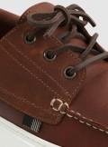Woolrich SCARPE DA BARCA IN PELLE IDROREPELLENTE - CMWFFO1030MRUWF048 - Tadolini Abbigliamento