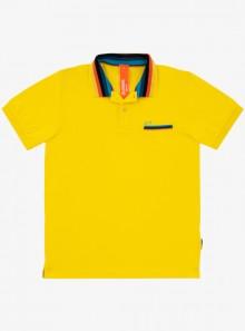 SUN68 POLO STRIPES ON COLLAR EL. - A30132 23 - Tadolini Abbigliamento