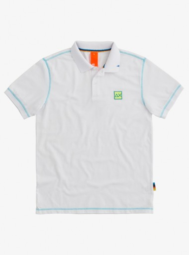 POLO COLD DYE CONTRAST STITCHING