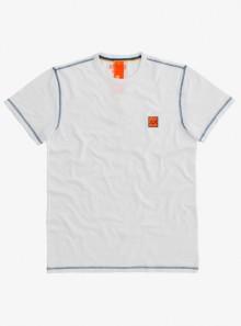 SUN68 T-SHIRT COLD DYE CONTRAST STITCHING - T31120 01 - Tadolini Abbigliamento