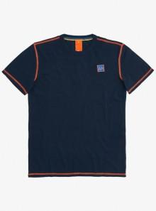 SUN68 T-SHIRT COLD DYE CONTRAST STITCHING - T31120 07 - Tadolini Abbigliamento