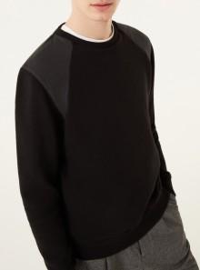 Colmar Originals FELPA GIROCOLLO CON INSERTI IN NYLON - 8211 - Tadolini Abbigliamento
