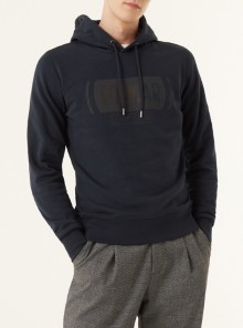 SWEATSHIRT WITH CROSSED OUT WRITING