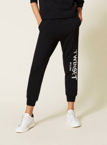 JOGGERS WITH LOGO EMBROIDERY