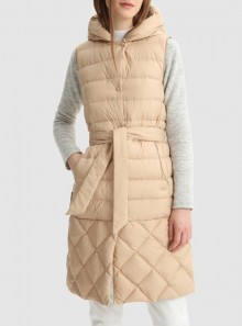 Woolrich GILET ELLIS LUNGO - CFWWVE0011FRUT2635 - Tadolini Abbigliamento