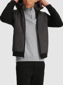 Woolrich FELPA IN TESSUTO IBRIDO CON CAPPUCCIO - CFWOSW0111MRUT2723 - Tadolini Abbigliamento