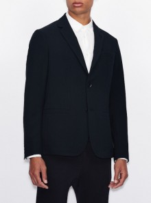 Armani Exchange BLAZER MONOPETTO IN TESSUTO STRETCH - 8NZG43 - Tadolini Abbigliamento