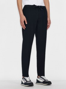 SKINNY TROUSERS WITH WAIST DRAWSTRING