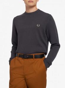 Fred Perry MAGLIONE GIROCOLLO CLASSICO - K9601 G85 - Tadolini Abbigliamento