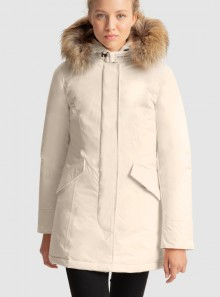 LUXURY ARCTIC PARKA WITH REMOVABLE RACCOON FUR