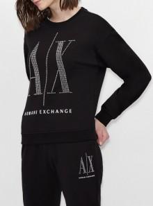 Armani Exchange FELPA GIROCOLLO ICON PERIOD - 8NYM01-YJ68Z - Tadolini Abbigliamento