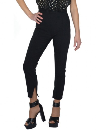 TROUSERS WITH SPLIT