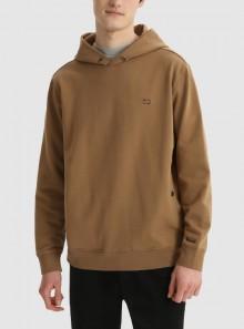 Woolrich FELPA AMERICAN CON CAPPUCCIO IN COTONE SPAZZOLATO - CFWOSW0112MRUT2792 7270 - Tadolini Abbigliamento