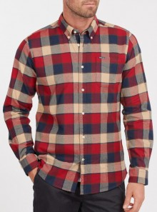 Barbour BARBOUR VALLEY TAILORED SHIRT - MSH5057RE33 - Tadolini Abbigliamento