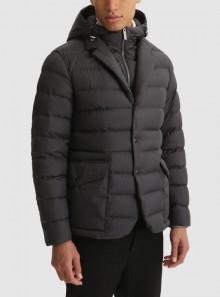 Woolrich BLAZER SIERRA 2 IN 1 CON CAPPUCCIO REMOVIBILE - CFWOOU0450MRUT2635 - Tadolini Abbigliamento