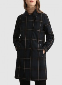 Woolrich CAPPOTTO MEADE 2 IN 1 CON MOTIVO BUFFALO CHECK - CFWWOU0475FRUT2703 - Tadolini Abbigliamento