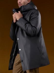 RRD DOUBLE RUBBER PARKA - W21013 - Tadolini Abbigliamento