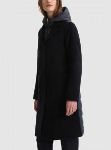 Woolrich KUNA PARKA 2 IN 1 IN MISTO LANA ITALIANA - CFWWOU0499FRUT2705 - Tadolini Abbigliamento