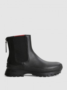 HIKING CHELSEA ANKLE BOOTS IN MATTE LEATHER