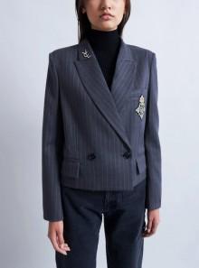 Vicolo BLAZER CROPPED PATCH - TX1009 - Tadolini Abbigliamento