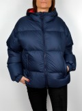 OVERSIZE MAXI QUILTED DOWN JACKET