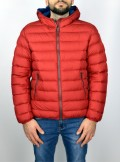 SPORTS DOWN JACKET WITH FIXED HOOD