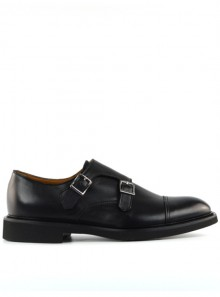 DOUBLE BUCKLE CAP TOE TENDER SHOE