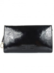 CLUTCH BAG WITH LOGO