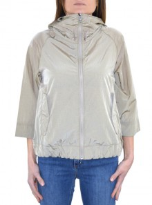 PACKABLE JACKET WITH 3/4 SLEEVES