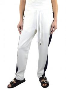 TwinSet PANTALONI CON BANDE LATERALI A CONTRASTO 191TP2076 - Tadolini Abbigliamento