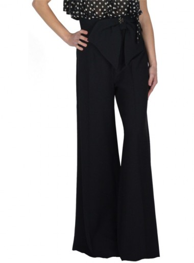 LONG TROUSERS WITH MAXI BOW