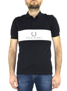 PANEL PIPED POLO SHIRT Sports Authentic