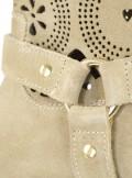 TwinSet STIVALETTI IN CAMOSCIO CON RICAMO LASER 191TCP11A - Tadolini Abbigliamento