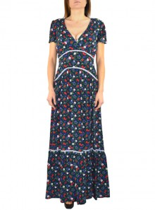 LONG DRESS WITH FLORAL FANTASY Bolivia